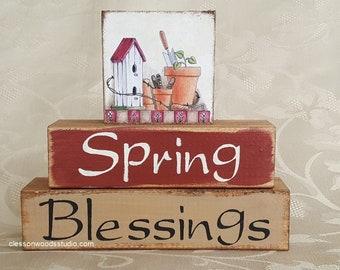 Spring Blessings Garden Block Stack (SPG148)