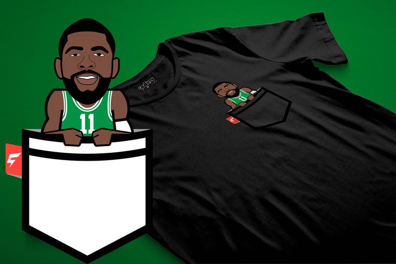 0ff9c1c9f Kyrie Irving Fauxket Tee Boston Edition | Etsy
