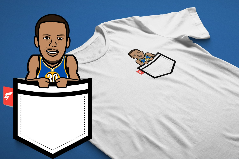 "Sc30 ""splash"" Caricature Fauxket (faux Pocket) Tee Unisex Tshirt"