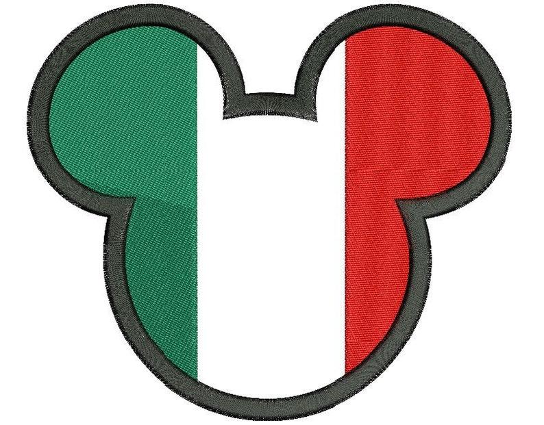 c094003a45e040 Mickey Mouse Italië stoffen borduurwerk ontwerpen image 0 ...