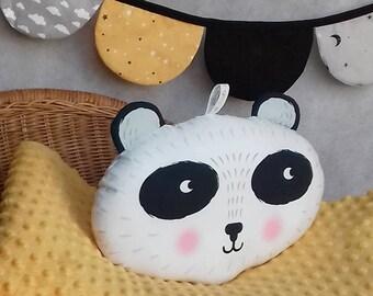 musical panda pillow