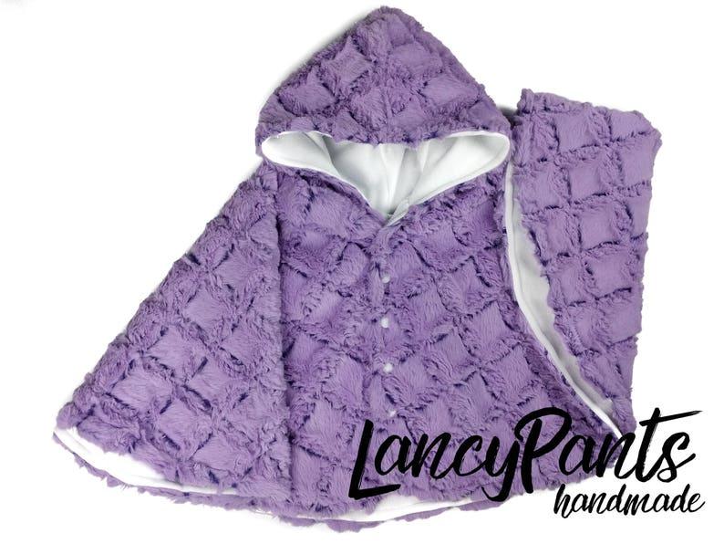 Made to order lilac gem soft cuddle minky fleece car seat image 0