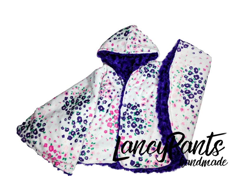 Ready to ship Size Toddler 2T-4T  reversible amethyst image 0