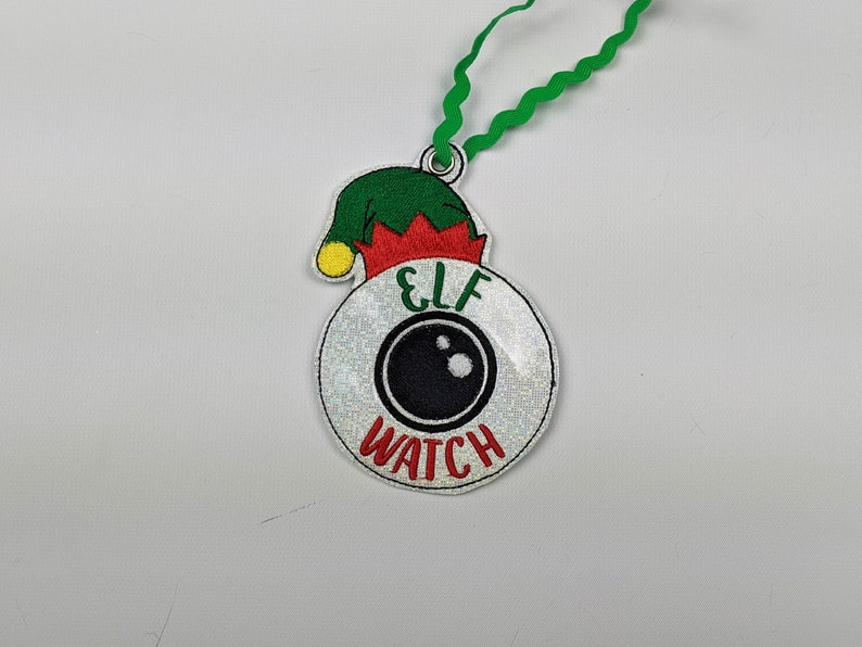 Elf watch camera cam christmas ornament santa christmas image 0