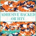 Amy Winters reviewed Orange, Navy Blue & White Digital Camo Pattern Adhesive Vinyl or HTV Heat Transfer Vinyl for Shirts Crafts and More!