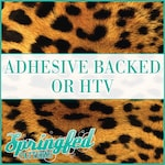 Leopard Spots Pattern #2 Adhesive or HTV Heat Transfer Vinyl for Shirts Crafts and More!