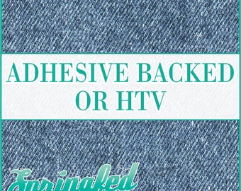 Denim Jeans Pattern #1 Adhesive Vinyl or HTV Heat Transfer Vinyl for Shirts Crafts and More!