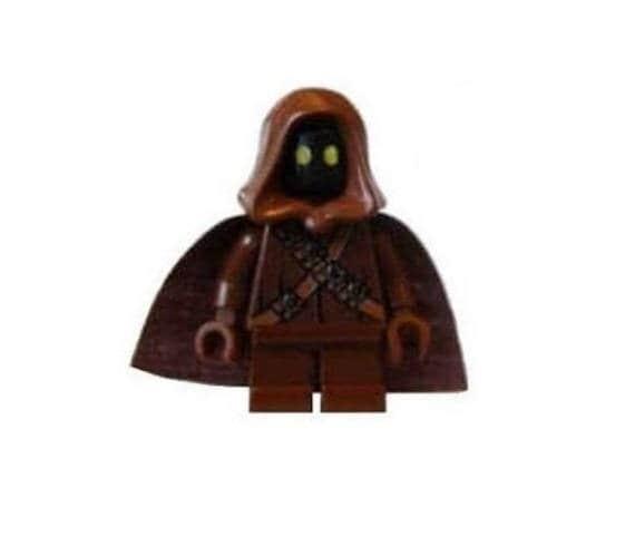 Custom Designed Minifigure Head Darth Vader Printed On LEGO Parts