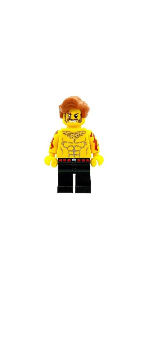 Custom Designed Minifigure Ozymandias Superhero Printed On LEGO Parts