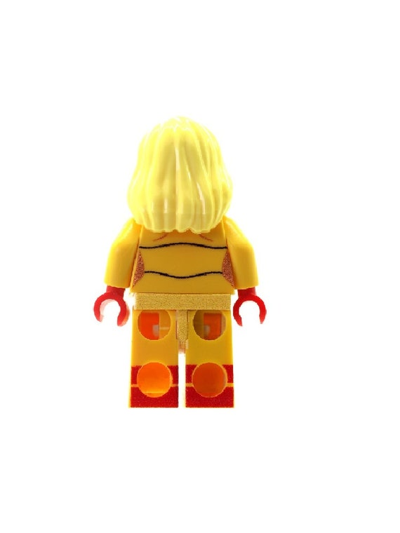Custom Designed Minifigure Spitfire Superhero Printed On LEGO Parts