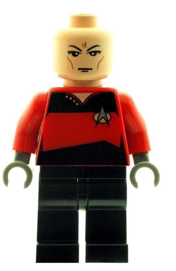 Chekov Space Trek Printed On LEGO Parts Custom Designed Minifigure