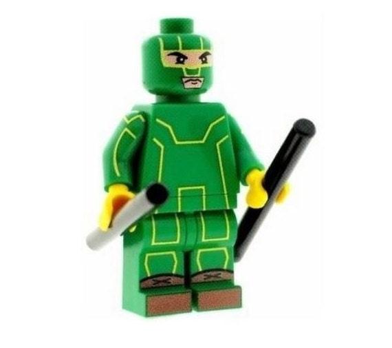 The Punisher Superhero Printed On LEGO Parts Custom Designed Minifigure