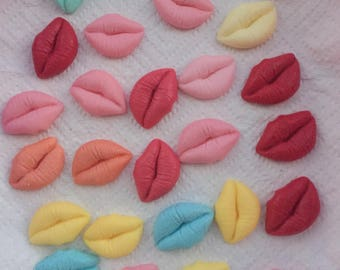 Sets of lip soaps suitable for hens nights, adult parties, prizes, souveniers, girls parties