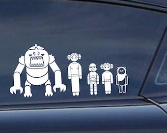 Family car stickers   Etsy