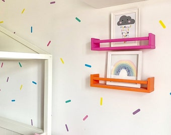 Sprinkle Shaped Wall Decals / Stickers