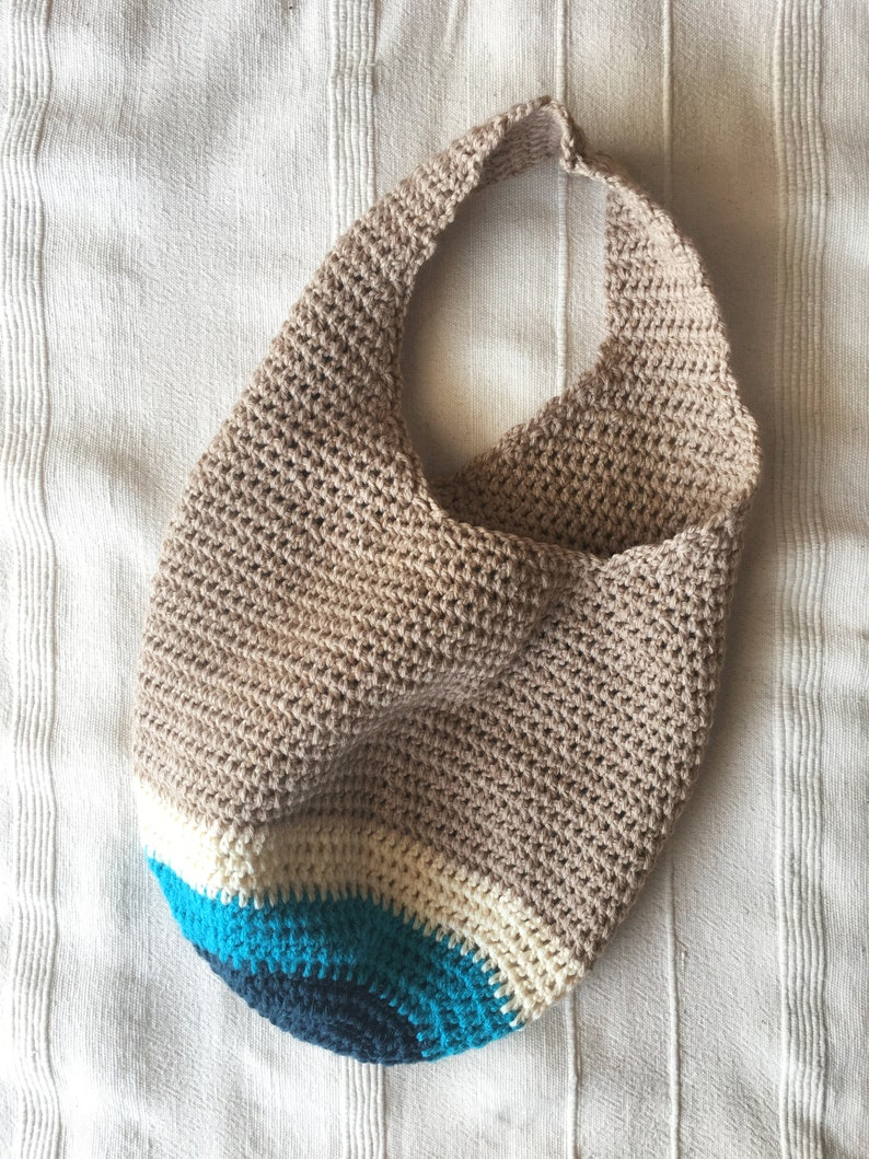 Crochet market bag Market bag Boho bag Comfortable beach bag Crochet tote bag Crochet Shoulder Bag Stylish Tote Crochet summer bag