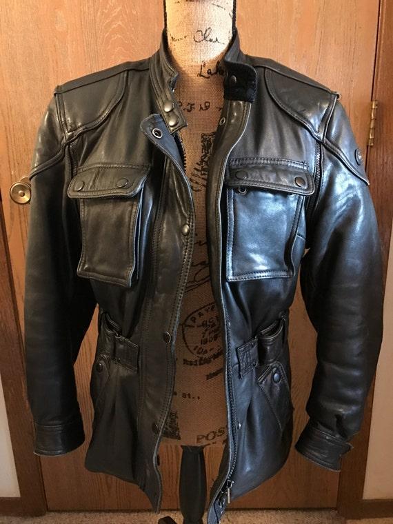 Vintage Hein Gericke Woman's Leather Jacket