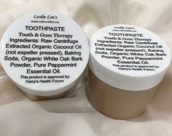 Leslie Lee's Tooth and Gum Therapy Toothpaste