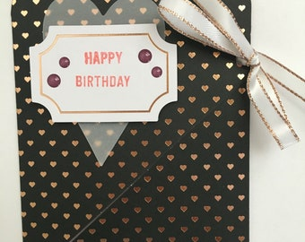 Simply Chic Birthday Gift Card Holder