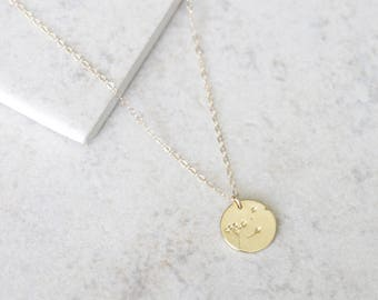 Wish Necklace - 14k Gold Filled or Sterling Silver - Everyday Jewelry