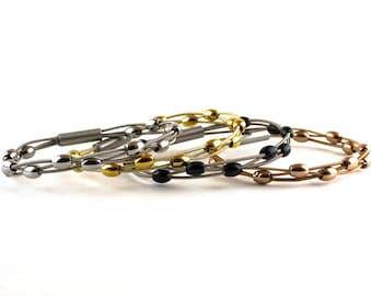 Siouxsie Guitar String Bracelet
