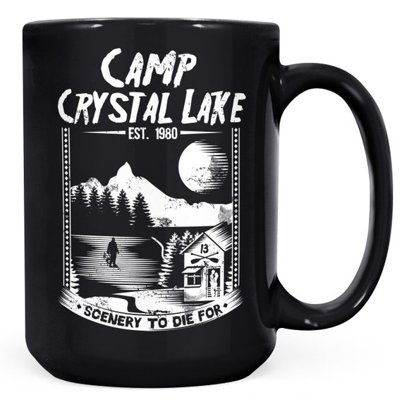 Friday the 13th Film de police Vintage Camp Crystal Lake Jason Voorhees Horreur Mug