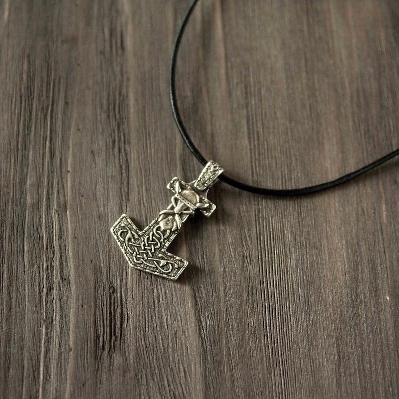 pagan amulet Thor/'s Hammer Mjolnir necklace silver bronze Viking pendant Scandinavian jewelry