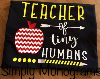 Teacher Of Tiny Humans Tee