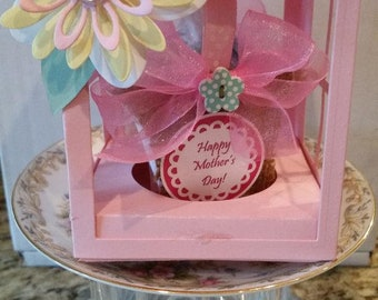 Mother's Day Candy Card in Pink or Yellow