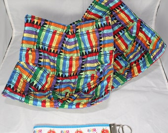 Teacher Gift Set (microwave potholders & key fob)