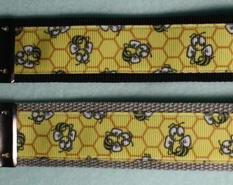 Key Fob/Key Chain Honey Bee