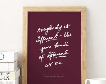 Collectible Print: Same Kind of Different as Me