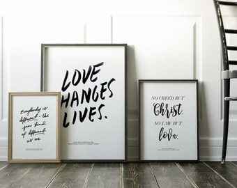 Collectible Print Set
