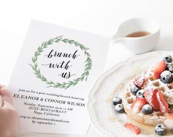 post wedding brunch etsy
