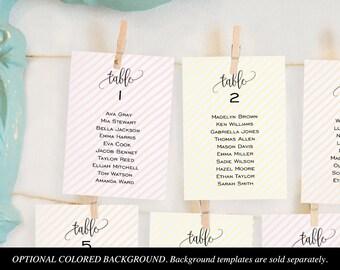 wedding seating chart printables seating card templates etsy