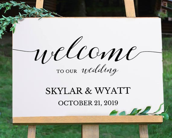 graphic relating to Printable Welcome Sign called Welcome Marriage Indicator Printable, Welcome Indicator Template, Marriage Indicator, Welcome Signal, Welcome Board, TEMPLETT PDF Jpeg Obtain #SPP007wels