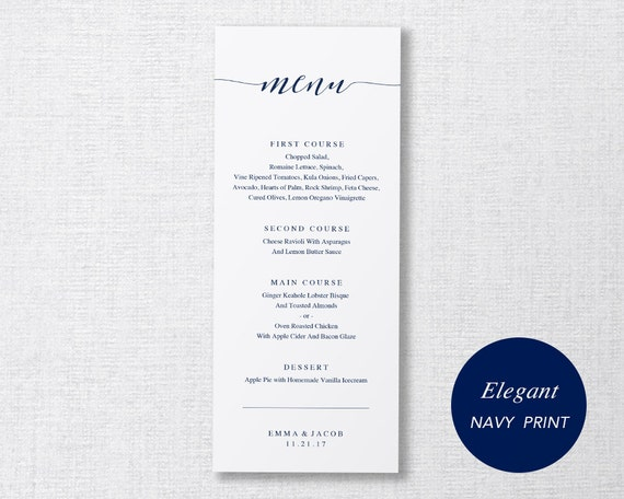 graphic relating to Printable Dinner Menu titled Marriage Menu Template, Printable Menu, Marriage Meal Menu, Do-it-yourself Menu Card, Prompt Down load, Editable PDF, Sophisticated Armed forces Calligraphy, Rutic