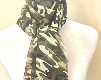 The Green Camo scarf