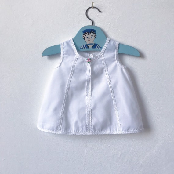 b4d22cacf176 Vintage Mothercare baby girls petticoat singlet verst or