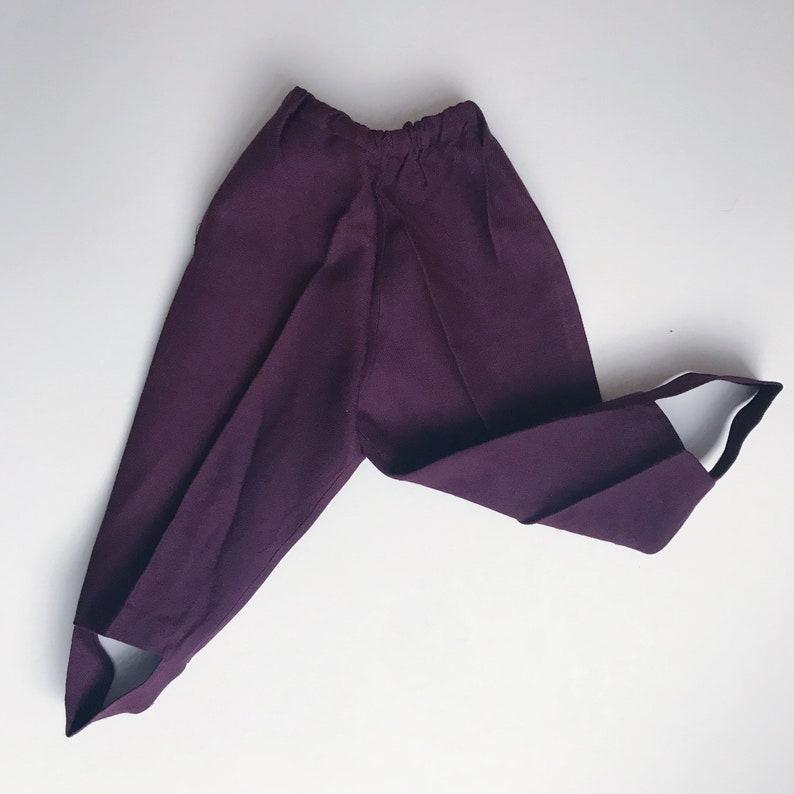 CLOSING SALE 1960s baby leggings age 1-2 years