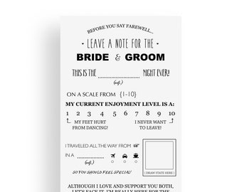 image regarding Free Printable Wedding Mad Libs Template known as Marriage ceremony insane lib Etsy