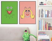 Miss Piggy Poster | The Muppets | Kids Room | Playroon Decor| | Wall Decor | Home Decor | Prints | Poster | Hollywood, Digital Download