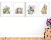 Doors | Set of 4 Posters ...