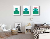 Pokemon Posters | Set of 3 posters | Bulbasaur Evolution | Games | Wall Art | Playroom Decor | Kids Room | Boy Room Decor | Video Game Decor