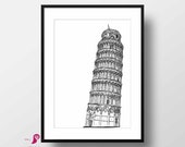 Pisa Wall Art | Italy | S...