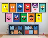 Sesame Street | Groove Poster  | Preschool | Kids | Wall Art | Wall Decor | Home Decor | Prints | Poster | Digital Paper | Digital Download