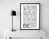 In This House Quote Poste...