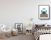 Pokemon Poster | Snorlax | Wall Art | Playroom Decor | Boy Room Decor | Video Game Decor | Gift for Him | Most Sold | Most Popular Item
