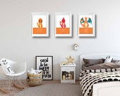 Pokemon Posters | Set of 3 posters | Charmander Evolution | Games | Wall Art | Playroom Decor | Boy Room Decor | Video Game Decor |Most Sold