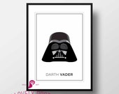 Star Wars Poster | Darth Vader | Galactic Empire | Movies | Boy Room | Design | Decor | Trends | Wall Art | Wall Decor | Home Decor | Prints